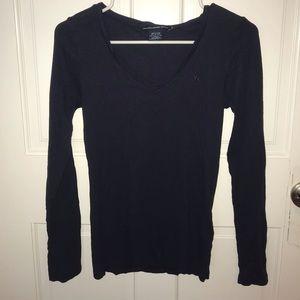 Ralph Lauren Sport Navy Blue Long Sleeve T-shirt